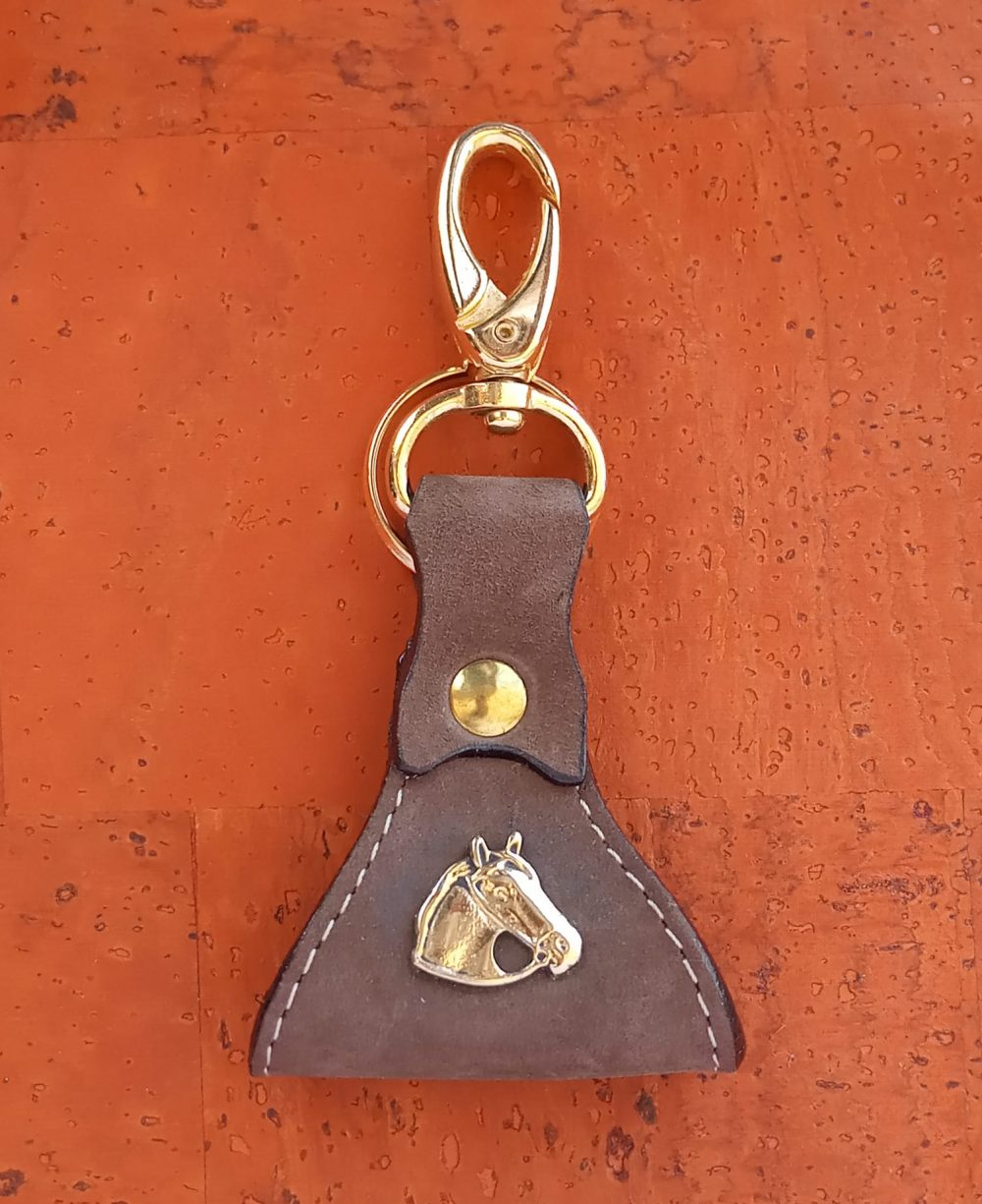 porta-chaves pele crute